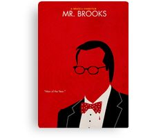 Mr. Brooks Canvas Print
