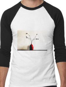 Red Vase Men's Baseball ¾ T-Shirt