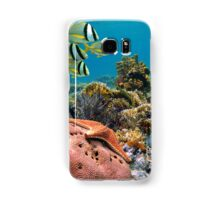 Tropical underwater landscape in a coral reef Samsung Galaxy Case/Skin