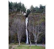 Columbia River Gorge - Horsetail Falls Photographic Print