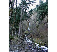 Columbia River Gorge - Wahkeena Falls Photographic Print