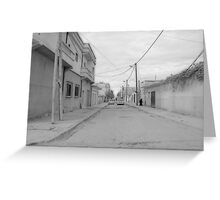 she is a shadow on the street but a mountain in their lives Greeting Card