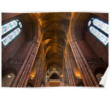 liverpool cathedral Poster