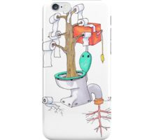 "The Toilet Tree - ""Toiletree"" iPhone Case/Skin"