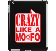 CRAZY MO-FO:  REWH iPad Case/Skin