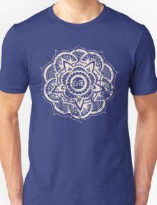 White Lotus (Blue) Unisex T-Shirt