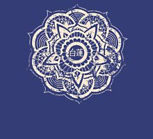 White Lotus (Blue) Unisex T-Shirt