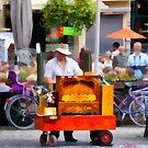Street Organ Player - Antwerp by Gilberte