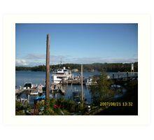 Lake Winnipesaukee Art Print