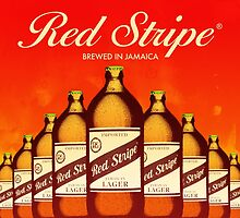 RED STRIPE - BREWED IN JAMAICA by Datblastedboy