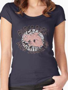 Hawk-Chan! Women's Fitted Scoop T-Shirt