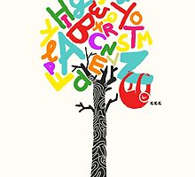 Sleep All Day (Alphabet tree) by Budi Kwan