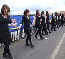 Riverdance, Derry, Ireland by mikequigley