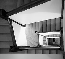 Staircase by Glennis  Siverson