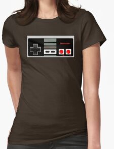 Classic old vintage Retro game controller Womens Fitted T-Shirt