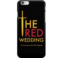 The Red Wedding - Game of Thrones iPhone Case/Skin