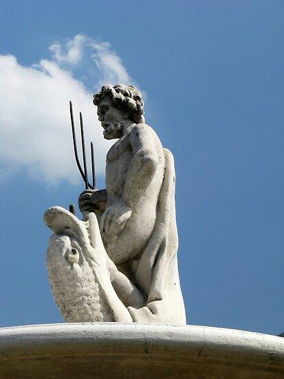Fountain Sculpture by Detlef Becher