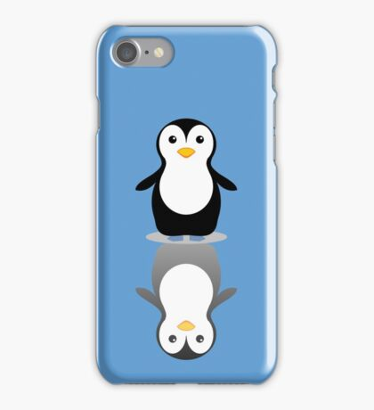 LONELY PENGUIN REFLECTING iPhone Case/Skin