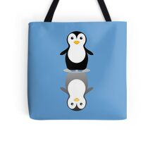 LONELY PENGUIN REFLECTING Tote Bag