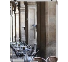 Table and Chairs iPad Case/Skin