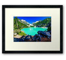 Blanca Lake Framed Print