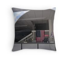 Inside the Water office Throw Pillow