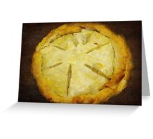 The Art of the Pie Greeting Card