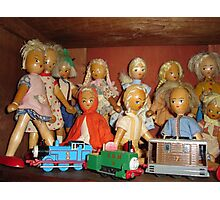 Shelf Life Toy Story (3) by Recycloanalyst Photographic Print