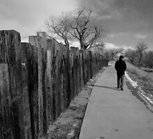Walking in Black and White by Belle Farley