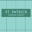 ST. PATRICK Subway Station by Daniel McLaren