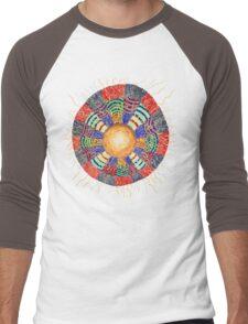 Moon Vibes ART Men's Baseball ¾ T-Shirt
