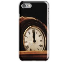 Clocks iPhone Case/Skin