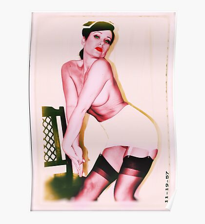 Pin Up Cutie Poster