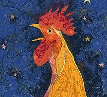 THE ROOSTER THAT CROWED IN THE MORN by Jean Gregory  Evans