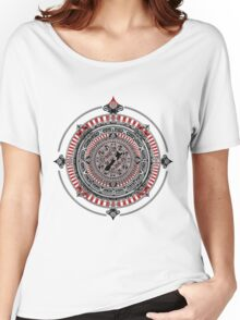 South Pacific Compass Rose Women's Relaxed Fit T-Shirt