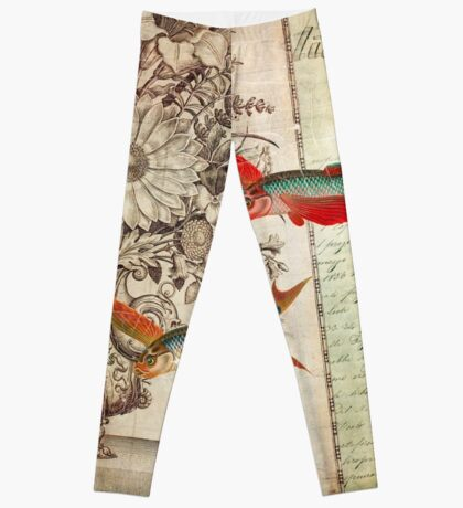 Fish of a Feather Leggings