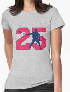 No. 25 Womens Fitted T-Shirt