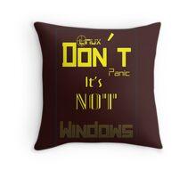 Linux Throw Pillow