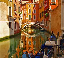 Colour on the Canals of Venice by tarenjane