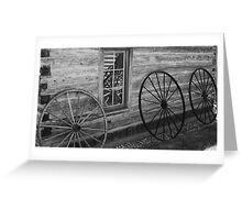 Reflections of the Past Greeting Card