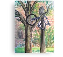 Outside the South Dining Hall Canvas Print