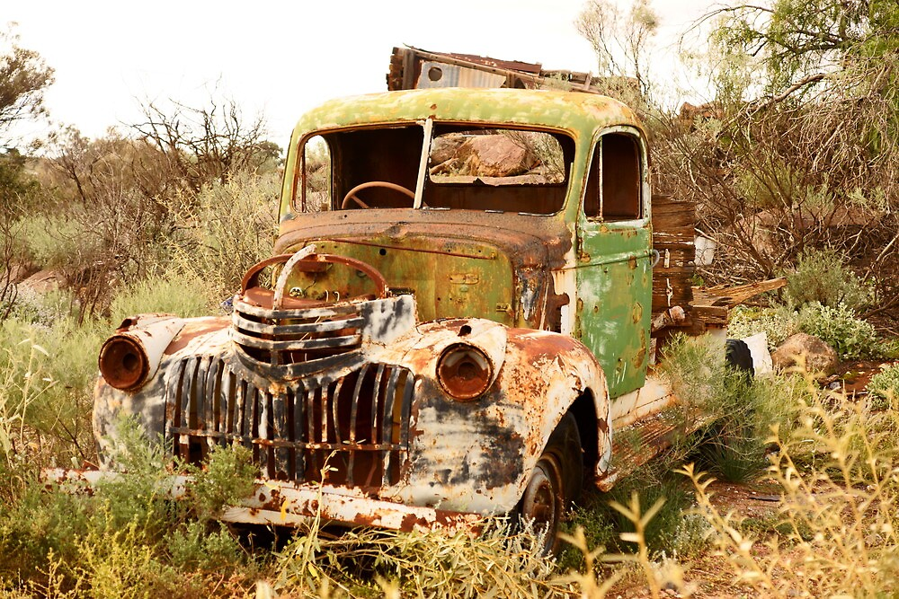 OLD WRECK (2) by ANDREW CARMAN