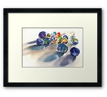 More marbles Framed Print