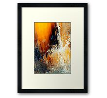 sunshine waterfall..... a dream sequence #4 Framed Print