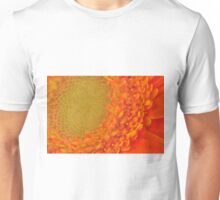 Orange Gerbera Daisy, As Is Unisex T-Shirt