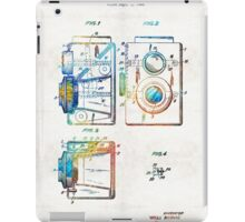 Vintage Camera Art - Twin Lens - By Sharon Cummings  iPad Case/Skin