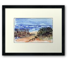 If you are lucky enough... Framed Print