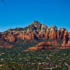 Sedona in panorama  by LudaNayvelt