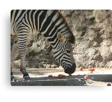 Carrot Time Canvas Print