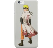 Naruto hokage iPhone Case/Skin